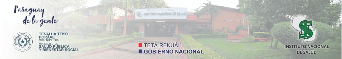 Instituto Nacional de Salud | Paraguay